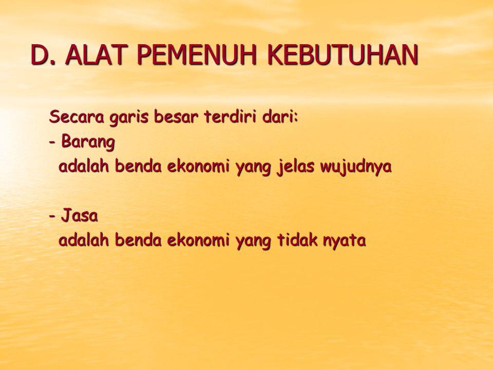 BAB 5 SISTEM PEREKONOMIAN INDONESIA DAN PELAKU- PELAKU EKONOMI