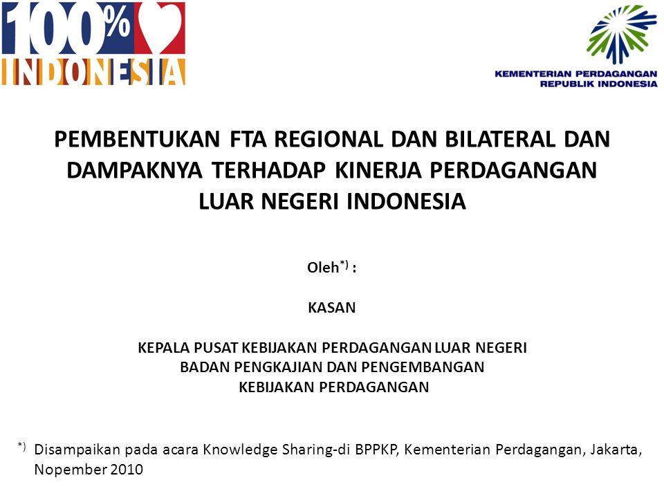 Arah Kebijakan Kementerian Perdagangan Menghadapi Persaingan Global Arah kebijakan pembangunan Perdagangan Nasional ke depan secara konsisten akan mengacu kepada arah pembangunan dalam RPJMN 2010-2014.