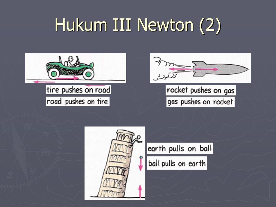 Hukum III Newton (2)
