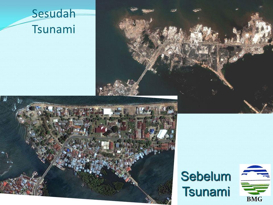 BMG Usulan Jaringan komunikasi untuk penyebaran peringatan dini tsunami DATA Pengolahan di tingkat Nasional Pengolahan di tingkat regional Media Propi