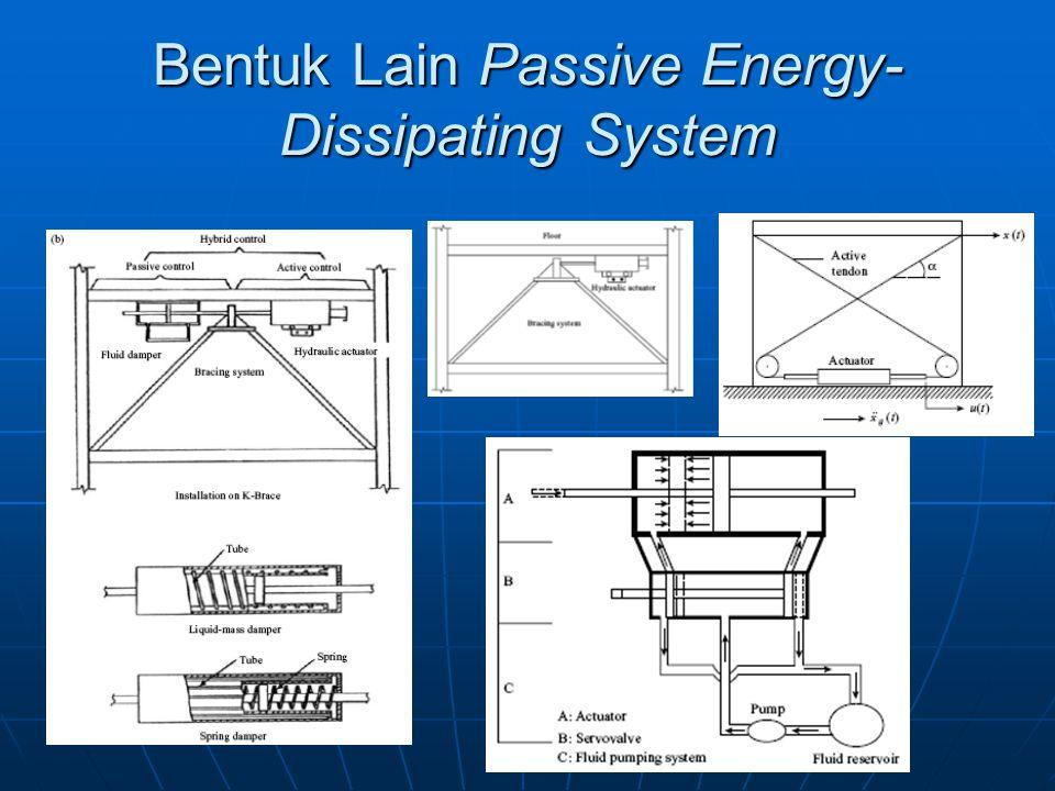 Bentuk Lain Passive Energy- Dissipating System