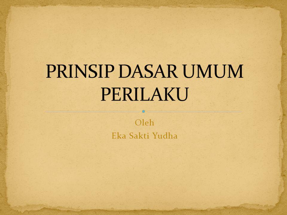 Oleh Eka Sakti Yudha