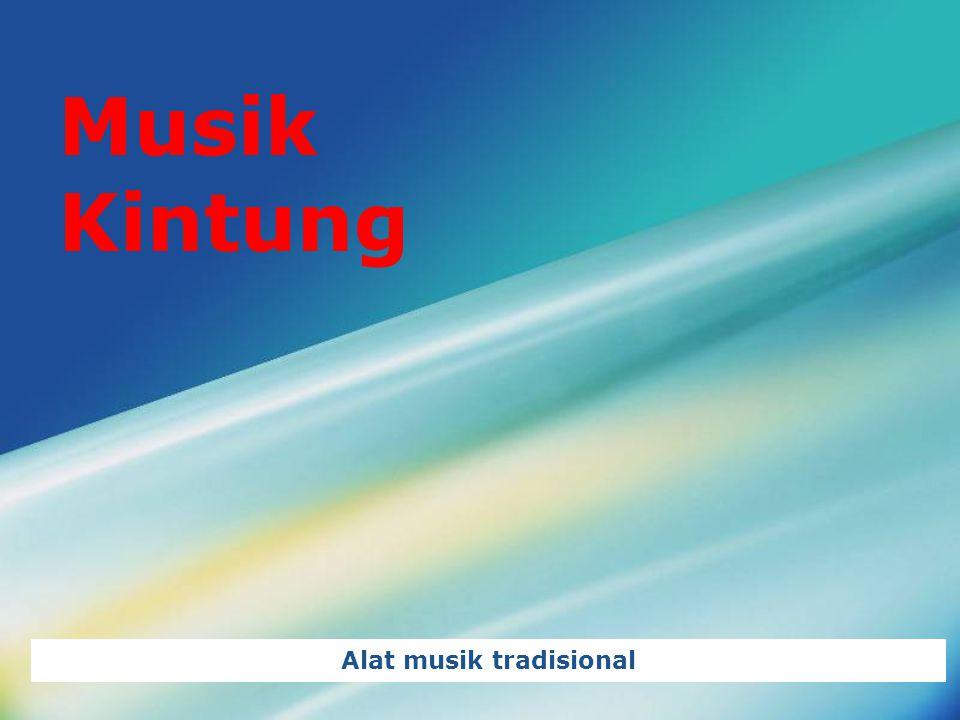 LOGO Musik Kintung Alat musik tradisional