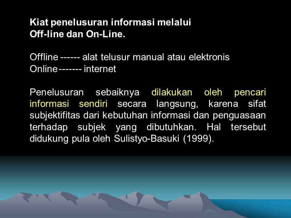 Internet adalah network dari network sifat : global, tidak dikendalikan oleh perorangan, organisasi atau negara tertentu dapat digunakan untuk mentransfer semua jenis data yang berbentuk digital, mudah diakses, dan menyediakan berbagai jenis layanan dari yang sifatnya bebas (free) sampai dengan yang harus mengikuti prosedur tertentu.