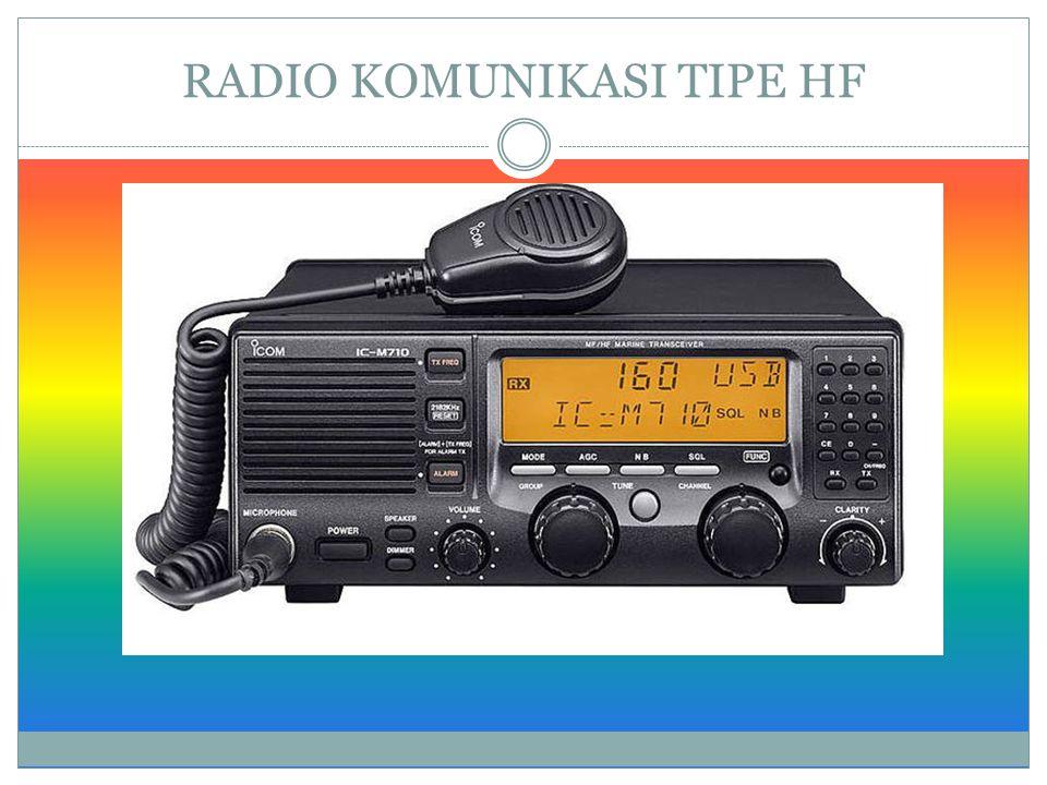 RADIO KOMUNIKASI TIPE HF
