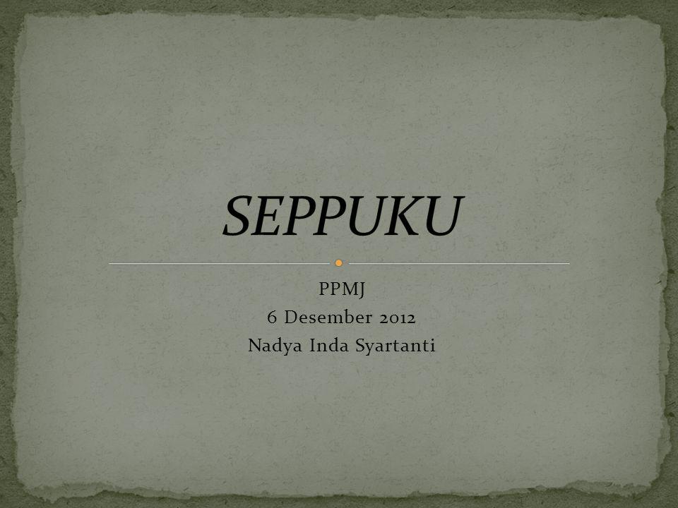 PPMJ 6 Desember 2012 Nadya Inda Syartanti