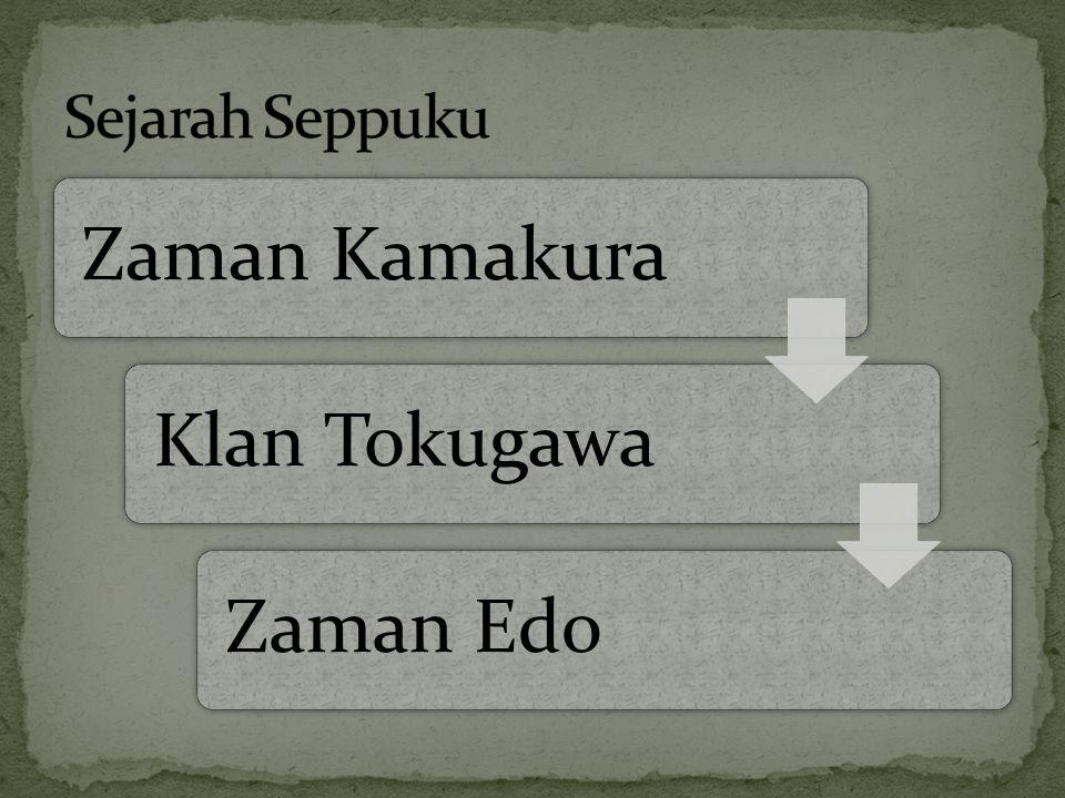 Zaman KamakuraKlan TokugawaZaman Edo