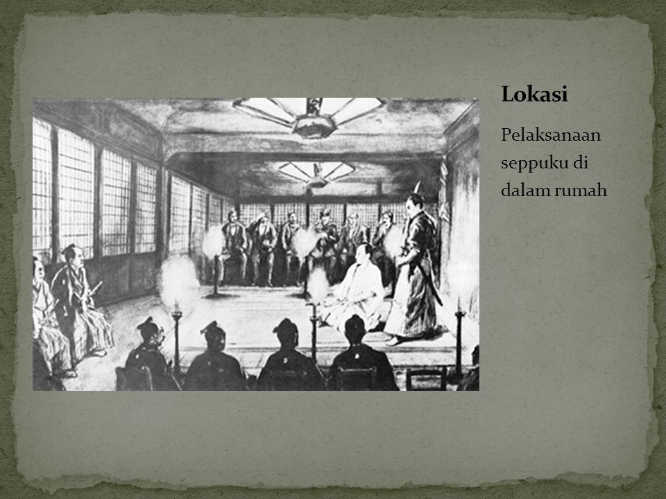 Pelaksanaan seppuku di dalam rumah