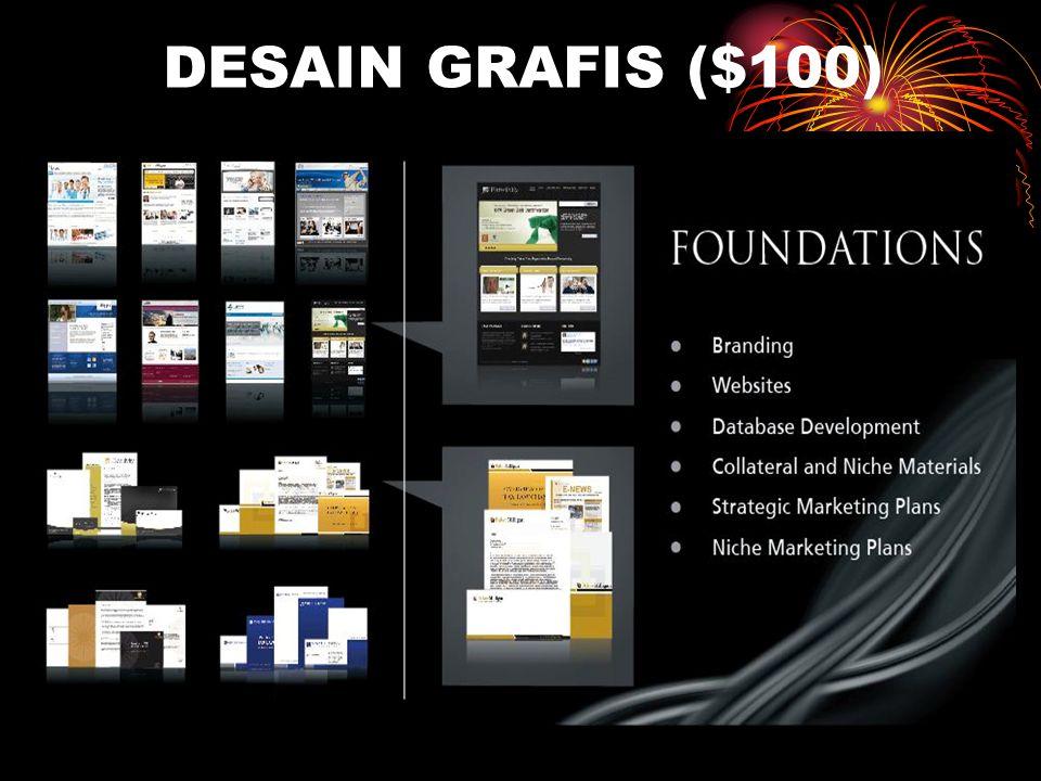DESAIN GRAFIS ($100)