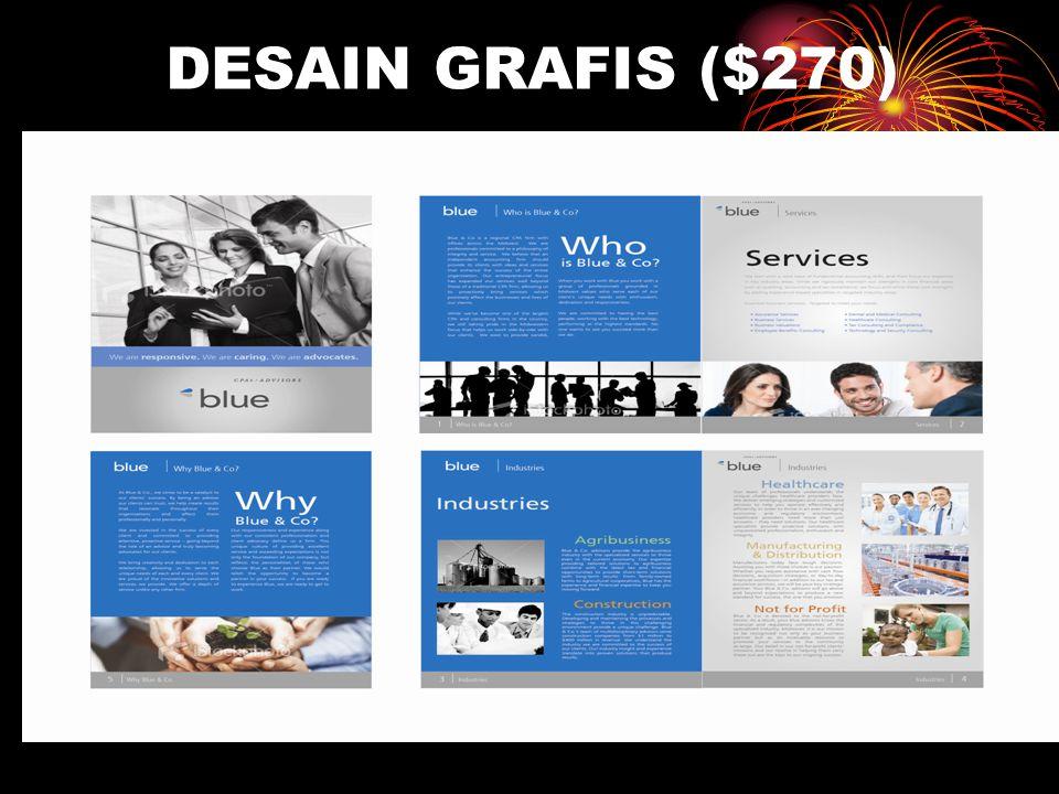 DESAIN GRAFIS ($270)