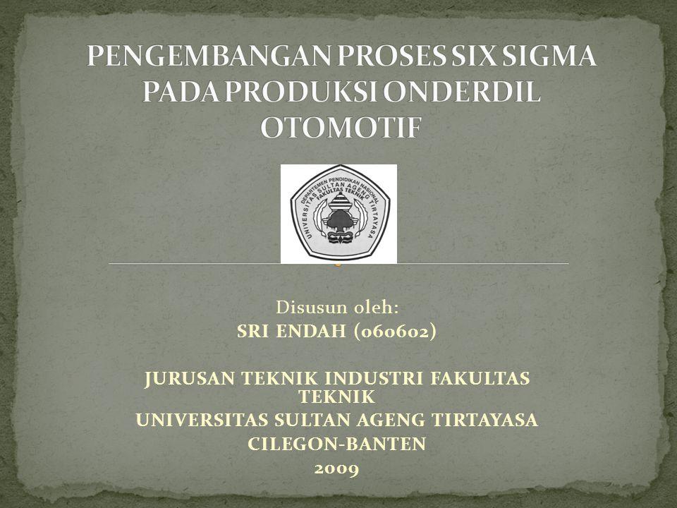 Disusun oleh: SRI ENDAH (060602) JURUSAN TEKNIK INDUSTRI FAKULTAS TEKNIK UNIVERSITAS SULTAN AGENG TIRTAYASA CILEGON-BANTEN 2009