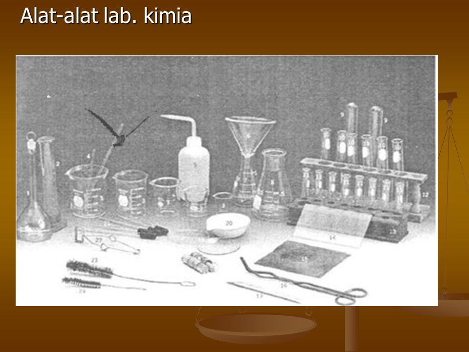 Alat-alat lab. kimia