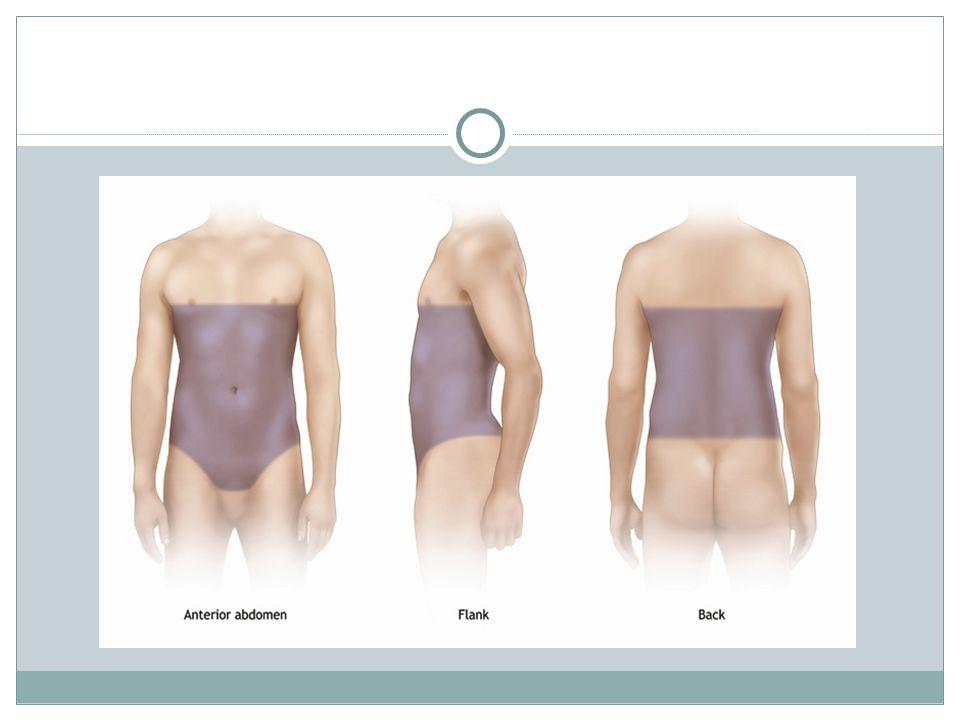 INDIKASI OPERASI A.Indikasi berdasarkan evaluasi abdomen 1.