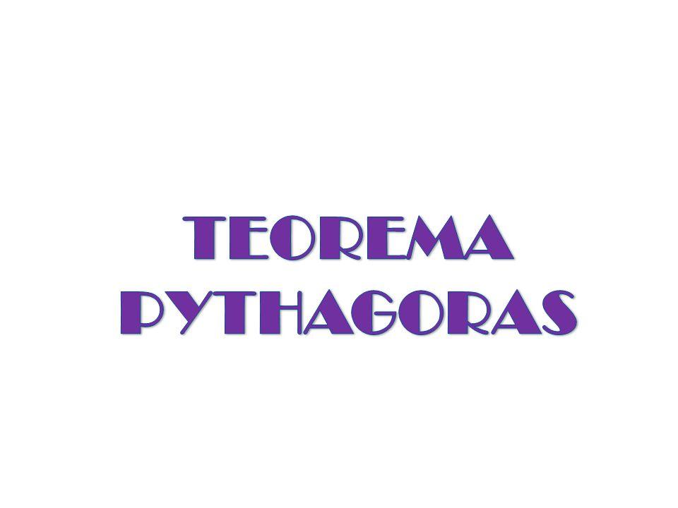 Segitiga istimewa  segitiga siku-siku cara mencari panjang sisi- sisi dari segitiga siku-siku menggunakan teorema Pythagoras.