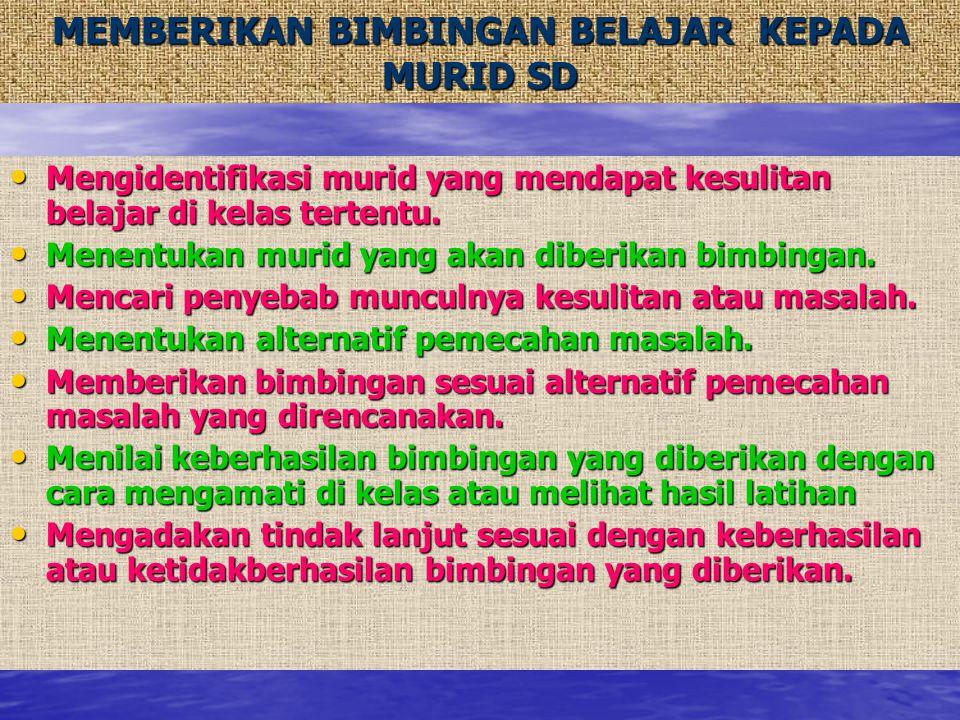 MENGERJAKAN TUGAS-TUGAS ADMINISTRASI PROSEDUR:  Mahasiswa meminta tugas melaksanakan administrasi kepada kepala sekolah/guru pamong.