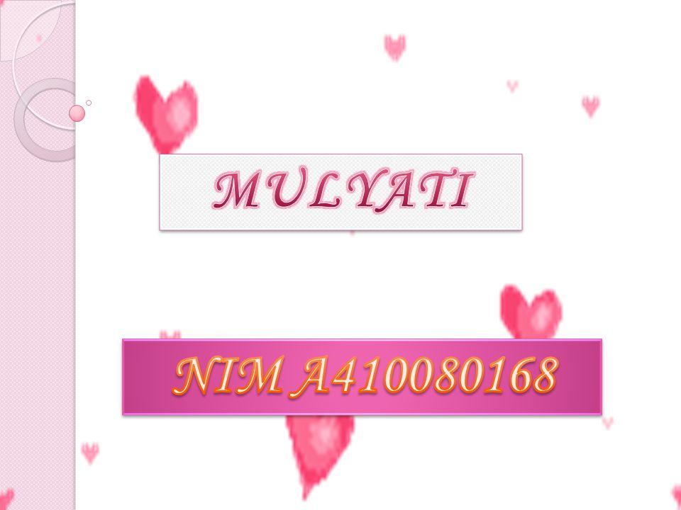 MATEMATIKA SMK Kelas XI Semester 2 Mulyati A410 080 168