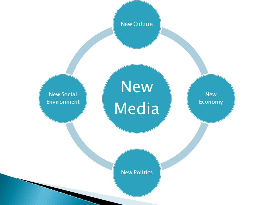New Media New Culture New Economy New Politics New Social Environment