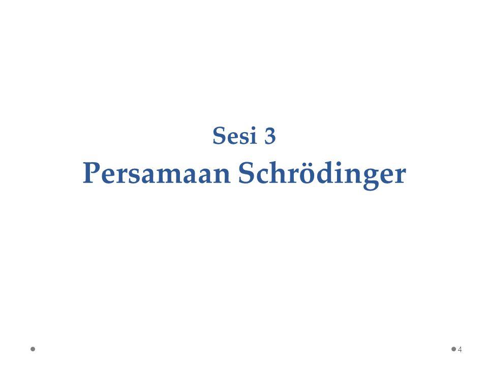 Sesi 3 Persamaan Schrödinger 4