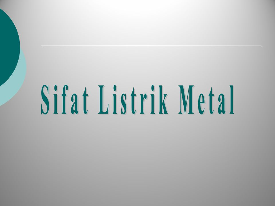 Model Pita Energi untuk Metal