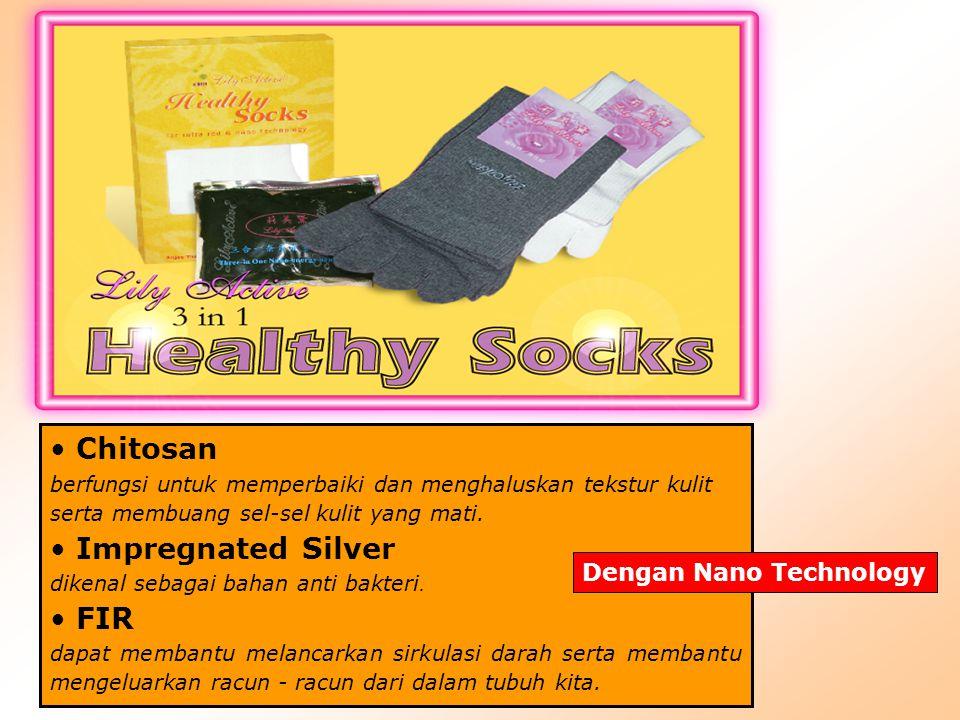 Fungsi Lily Active 3 in 1 Healthy Socks Mengurangi rasa sakit pada penderita reumatik.