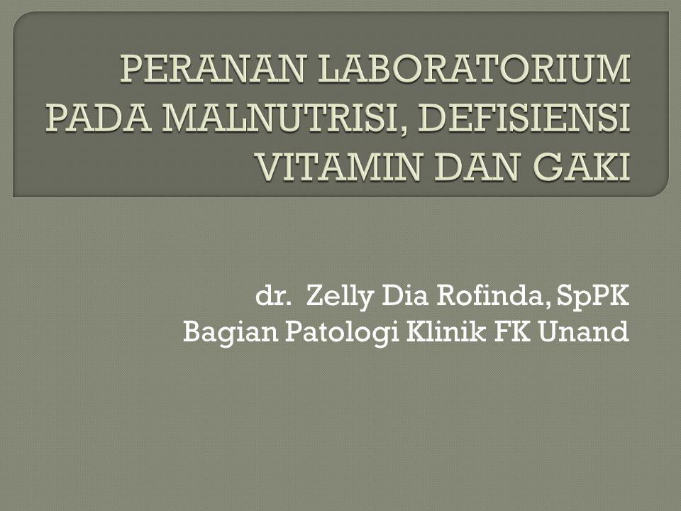dr. Zelly Dia Rofinda, SpPK Bagian Patologi Klinik FK Unand