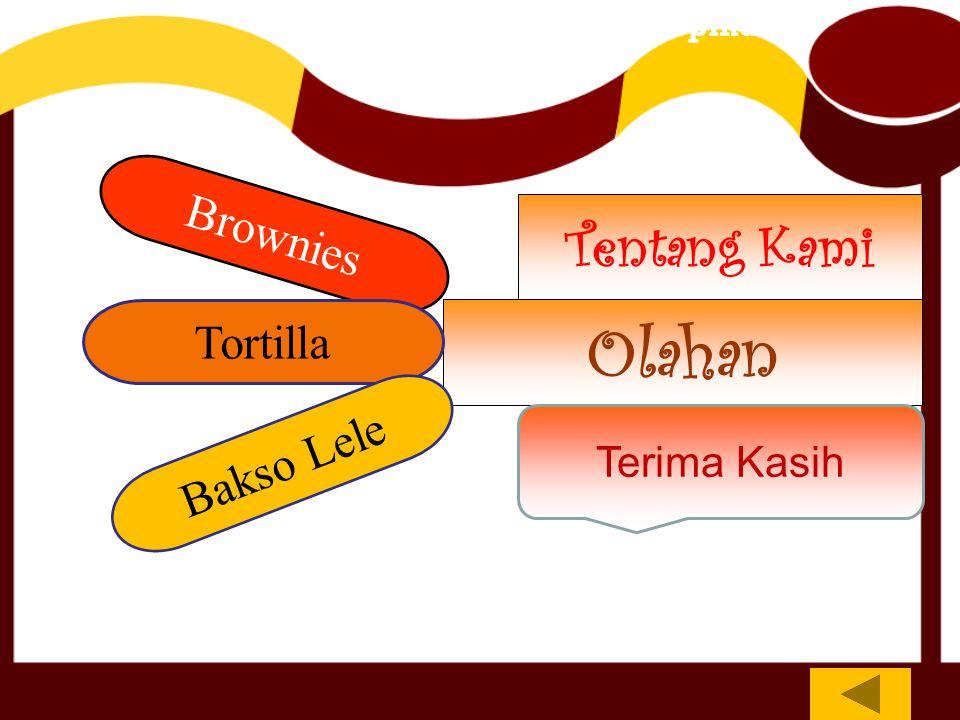 Tentang Kami Olahan Terima Kasih PT.Nippon Indosari Corpindo Brownies Tortilla Bakso Lele