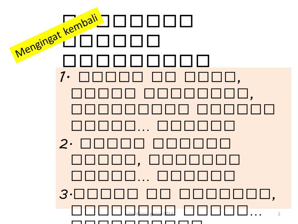 suhardjono genap 201453 Jenis Tanah koefisien rembesan permeabilitas K kategorimm / jamcm / menitm / hari Pasir kasar Sangat cepat 3000 - 3005,0 – 0,570 – 7 Pasir halusCepat300 - 500,5 – 0,17 – 1,2 Pasir berlempung Sedang 50 - 250,1 – 0,051,2 – 0,6 Lempung25 – 12,50.05 – 0.020,6 – 0,3 Memenuhi syarat untuk sumur resapan bila K lebih besar dari 20 mm / jam.