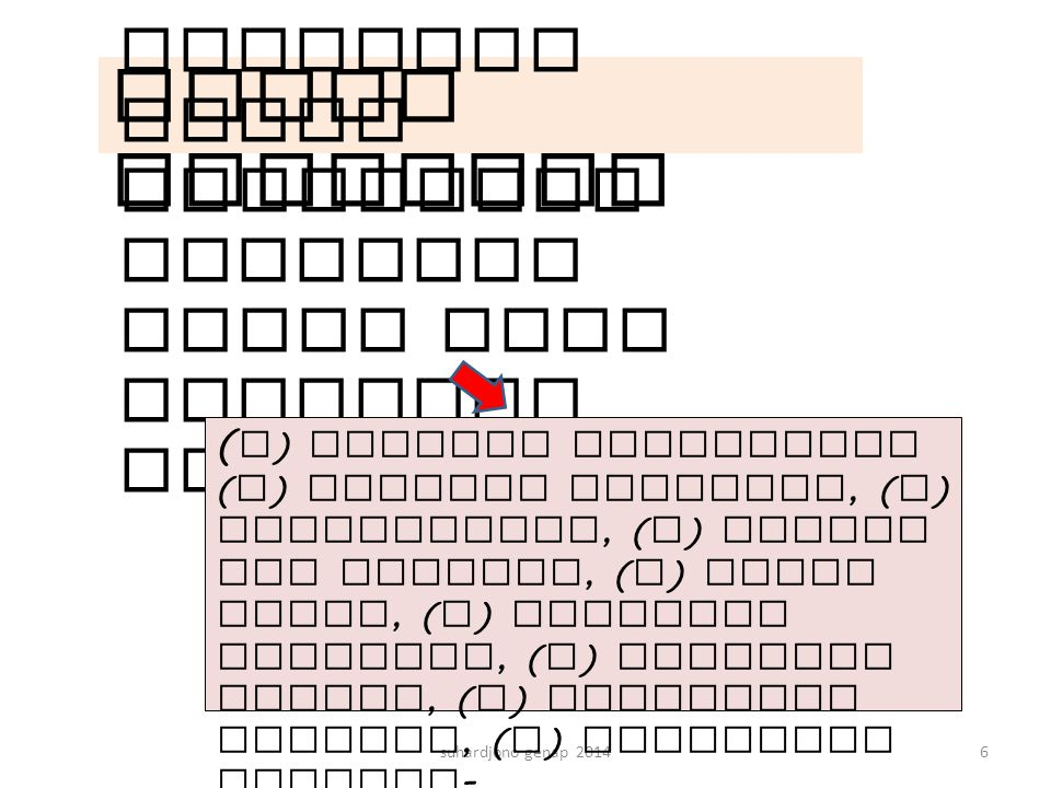 Metode Sunyoto (1998) suhardjono genap 201457 Keterangan H = Tinggi muka air dalam sumur (m) Q = Debit air masuk (m3/dtk) T = Waktu pengaliran (detik) K = Koefisien permeabilitas tanah (m/dtk) R = Jari-jari sumur (m) F = Faktor Geometrik (m)