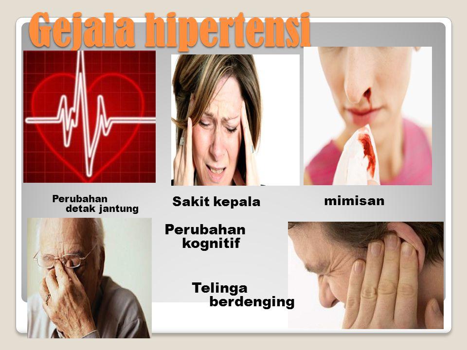 Hipertensi Gejala Sebab Efek negatif klasifikasi