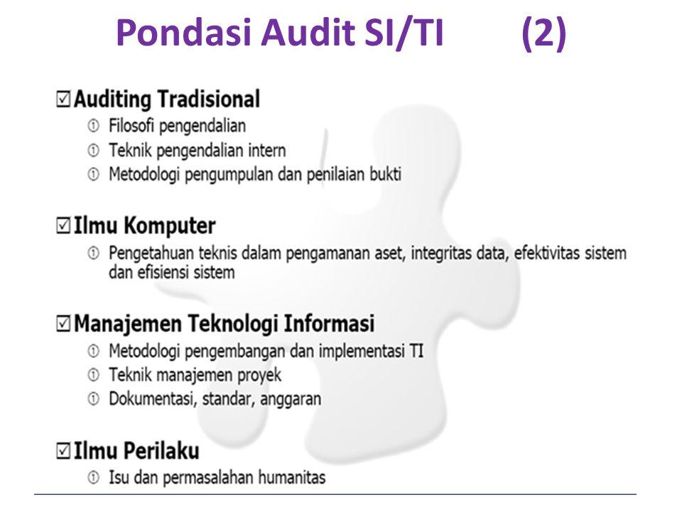 Pondasi Audit SI/TI (2)