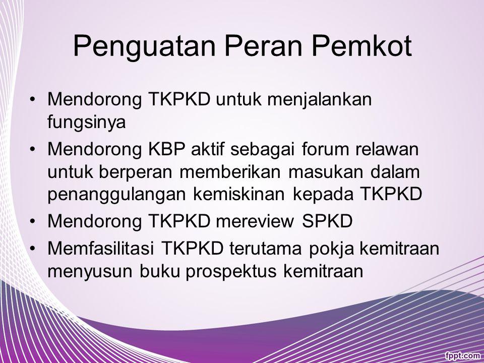 Tahapan Menuju Masyarakat Madani Menjalankan Program Kemitraan PAKET Tahap 2 Persiapan verifikasi kelayakan pelaksanaan Program Pengembangan Lingkunga
