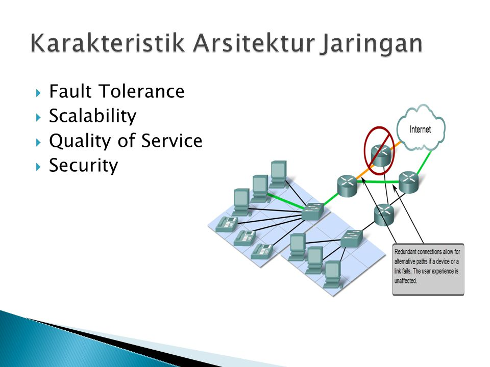 Fault Tolerance  Scalability  Quality of Service  Security