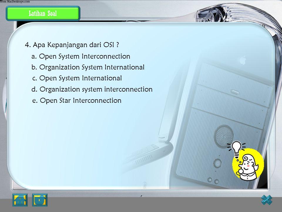 Jawaban JAWABAN BENAR 3. Apa Kepanjangan dari DNS ? a. Donation National System b. Digital National System c. Digital Name System d. Domain Name Syste
