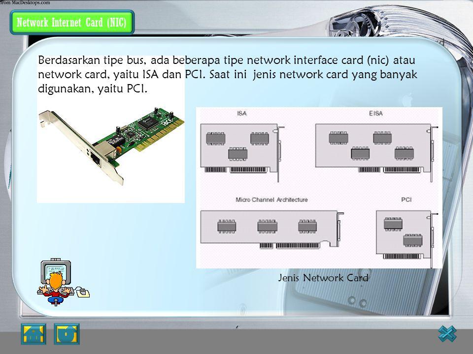 Personal Computer Tipe personal komputer yang digunakan di dalam jaringan akan sangat menentukan unjuk kerja dari jaringan tersebut. Komputer dengan u