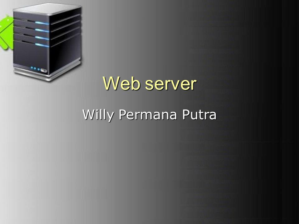Web Server .