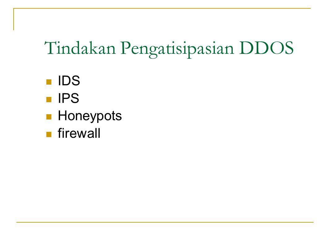 Akibat DDOS