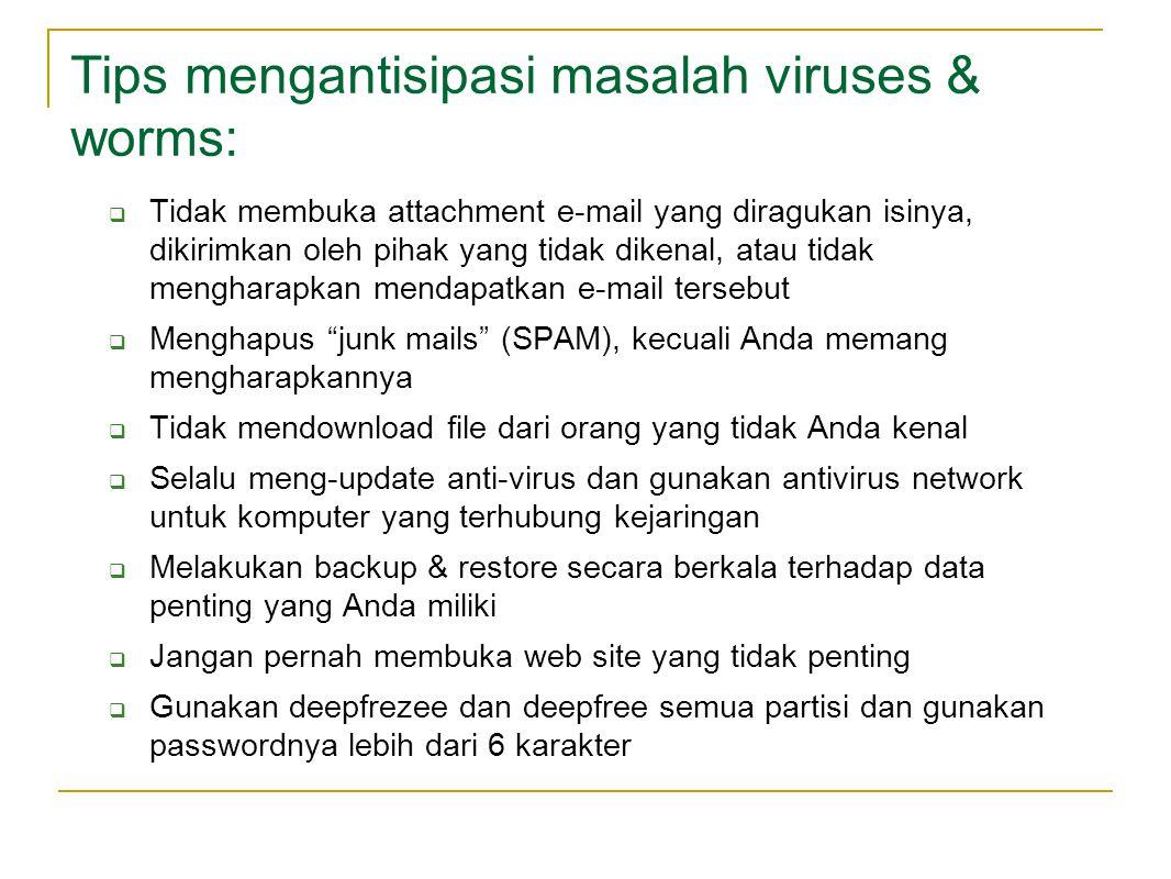 Amankan user and password