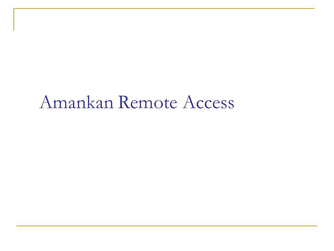 Remote access Telnet vs SSH VPN  Ipsec Freeswan Racoon  CIPE  PPTP  OpenVPN