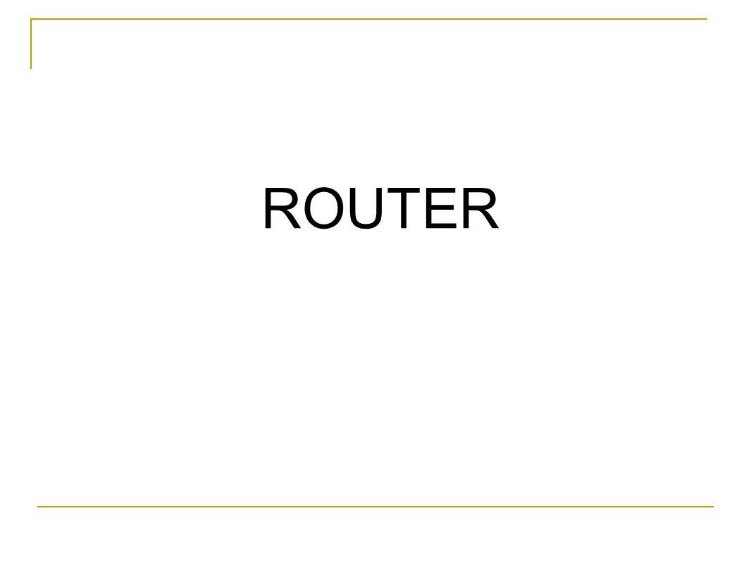 Apa itu Router .
