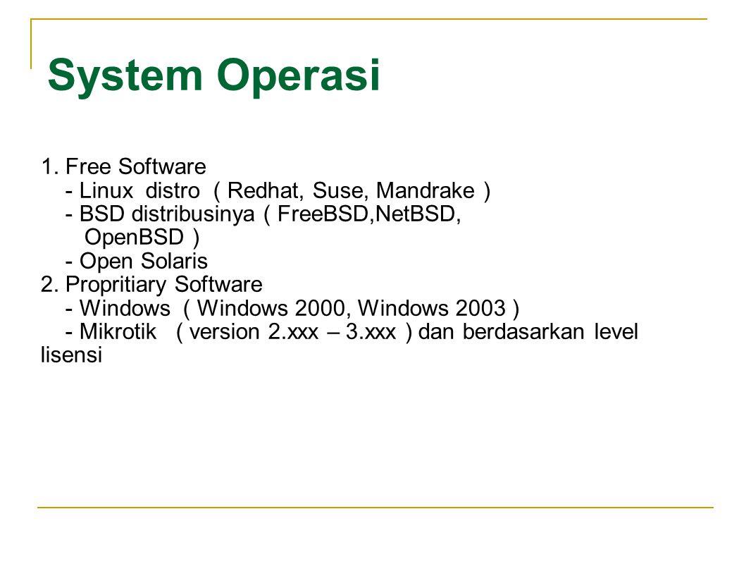 LINUX dan BSD adalah System Operasi komputer yang merupakan clonning UNIX Yang membuat beroperasinya sebuah Mesin ( Personal Computer ).