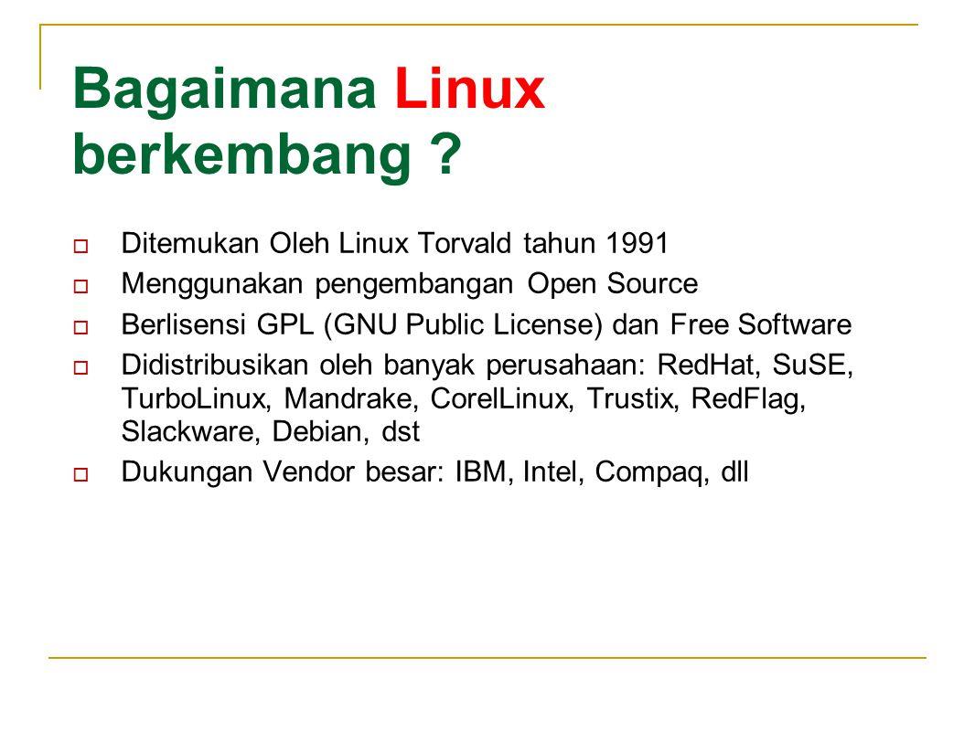 Bagaimana BSD berkembang .