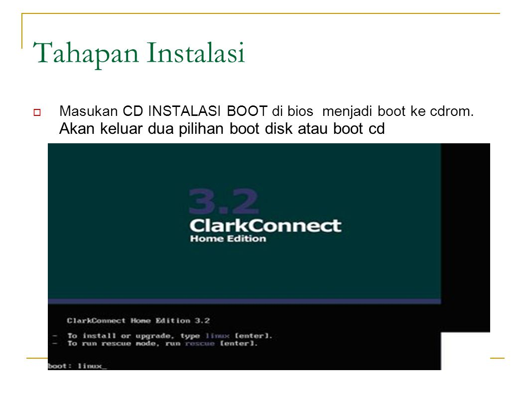 Booting Proses