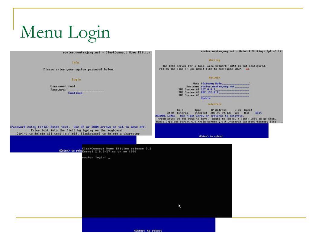 Tahapan Konfigurasi  Running IE or Mozilla and access ip lan router https://192.168.0.254:81