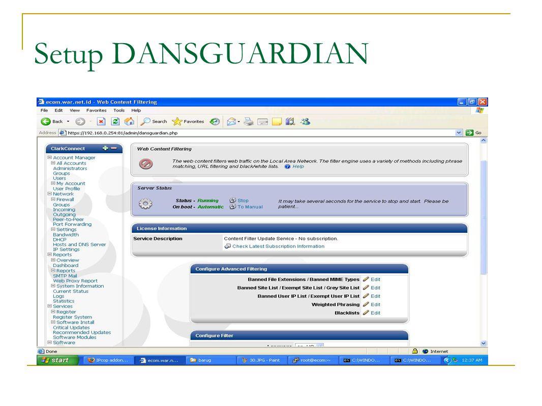 Bandwith Management
