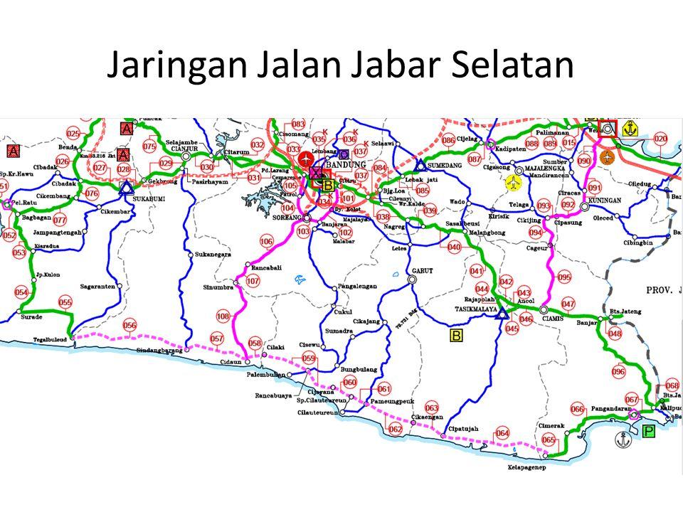 Jaringan Jalan Jabar Selatan