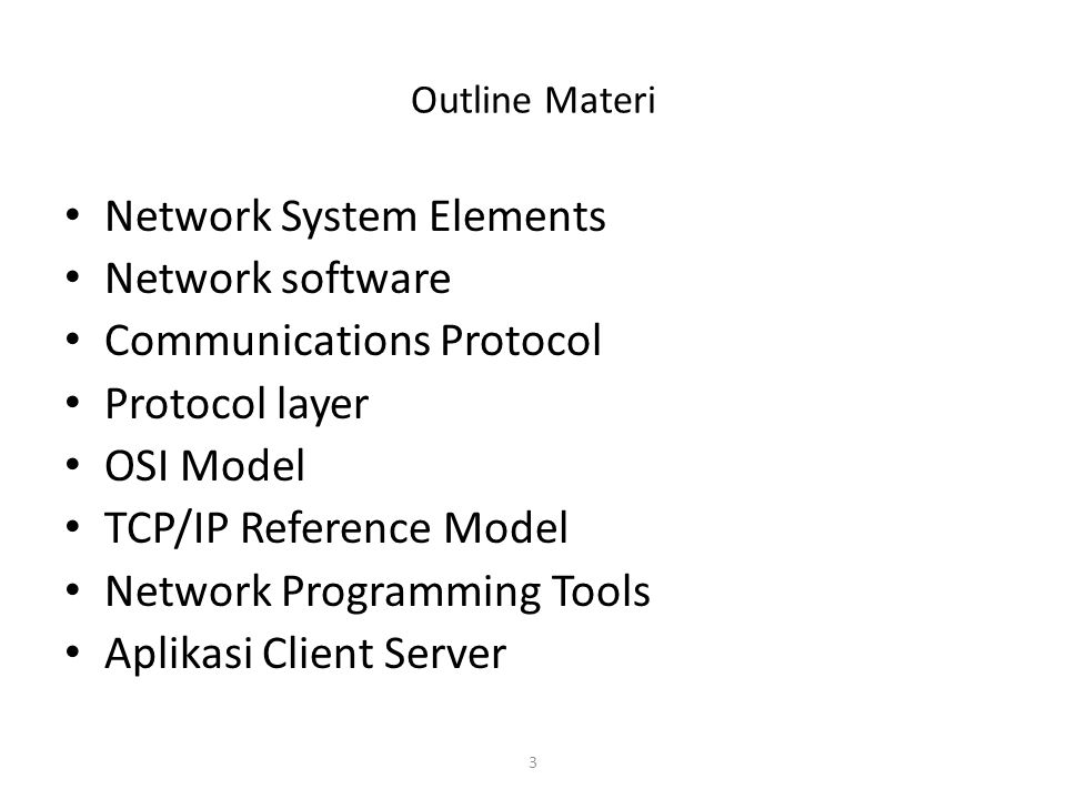 4 Network System Overview Network System Elements – Computing Terminals (e.g.