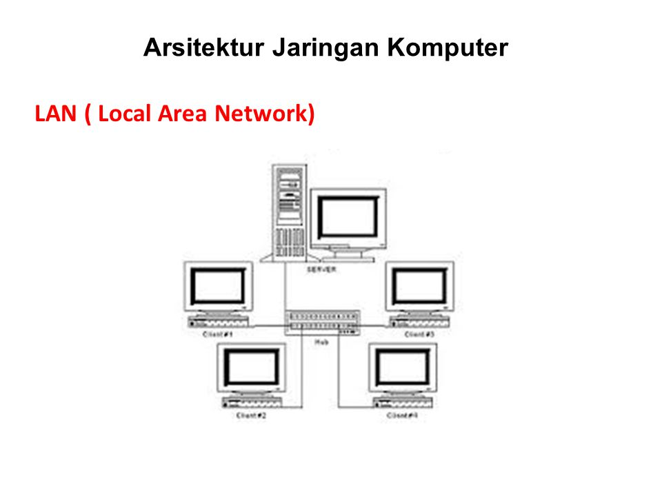 Arsitektur Jaringan Komputer LAN ( Local Area Network)