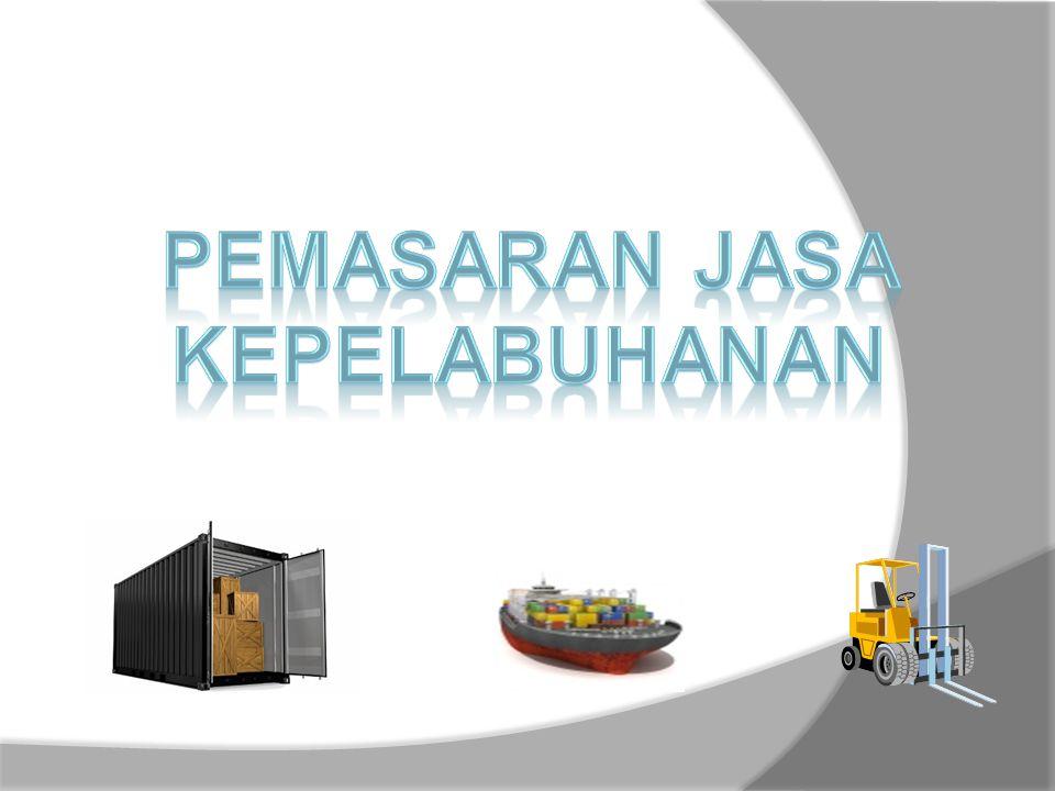  Analisis dari segi pelayanan Berdasarkan data dari INSA ( Indonesian National Shipowners Association ) menunjukkan bahwa kemampuan menangani kapal di pelabuhan masih rendah, disebabkan antara lain birokrasi, peralatan yang belum memadai, sarana pelabuhan yang kurang serta kemampuan buruh yang terbatas.