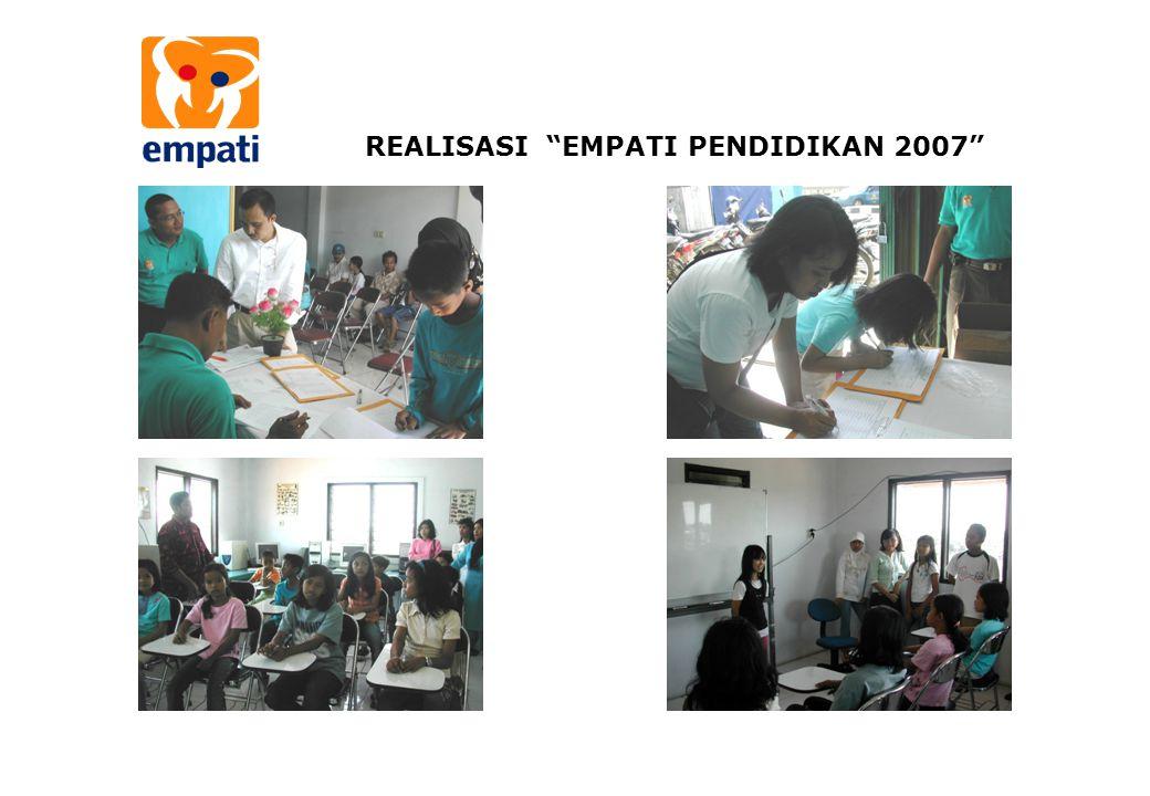 """REALISASI """"EMPATI PENDIDIKAN 2007"""""""