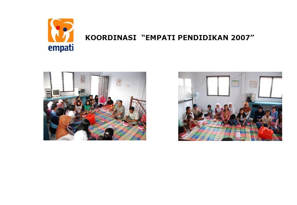 """KOORDINASI """"EMPATI PENDIDIKAN 2007"""""""